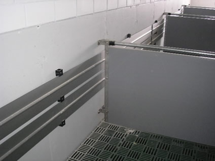 豚舎用暖房温水暖房ツインパイプ