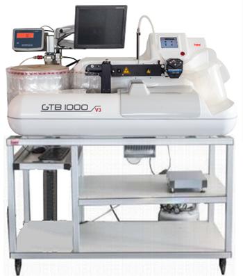 豚人工授精用希釈精液自動充填機GTB1000V3
